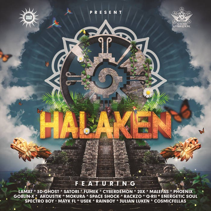 Tzolkin Productions - .Various - Halaken