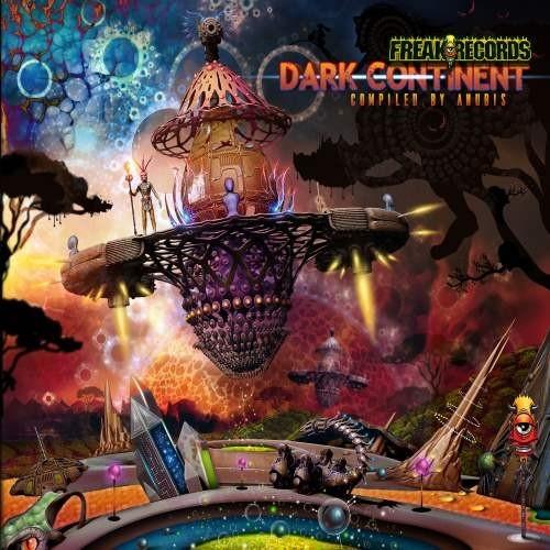 Freak Records - .Various - The dark Continent