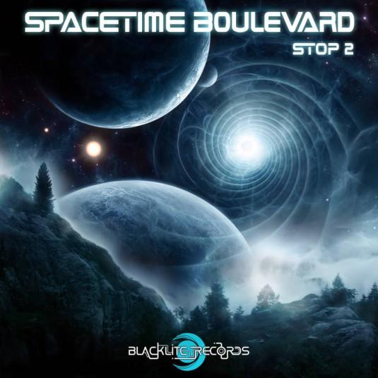 Blacklite Records - .Various - Spacetime Boulevard - Stop 2
