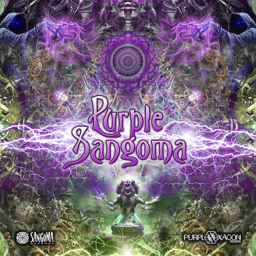 Purple Hexagon - .Various - Purple Sangoma