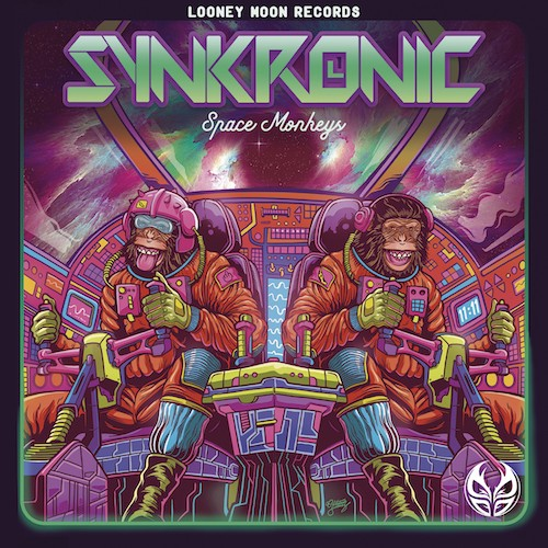 Looney Moon Records - SYNKRONIC - Space Monkeys