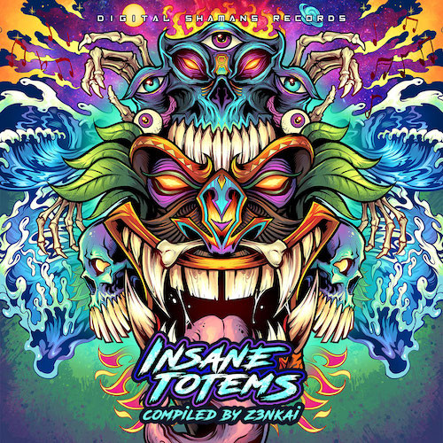 Digital Shamans Records - .Various - Insane Totems