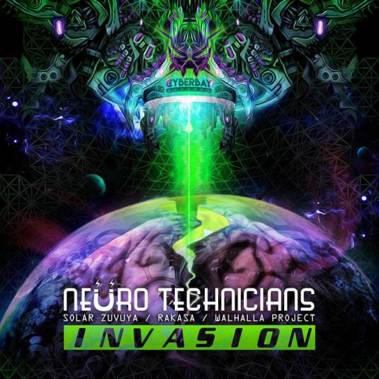 Cyberbay Records - NEURO TECHNICIANS - Invasion