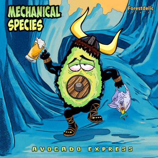 Forestdelic Records - MECHANICAL SPECIES - Avocado Express EP