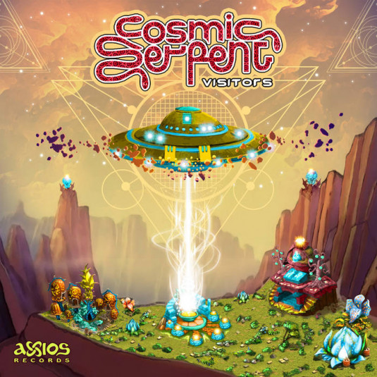Axios Records - COSMIC SERPENT - Visitors