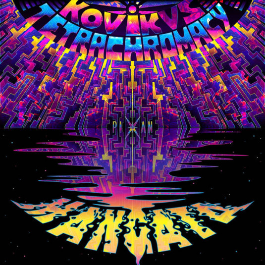 Pixan Recordings - KOVIK, TETRACHROMACY - Mangata
