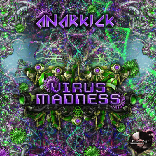 Stone Age Records - ANARKICK - Virus Madness