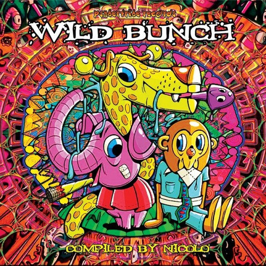 Psybertribe Records - .Various - Wild Bunch