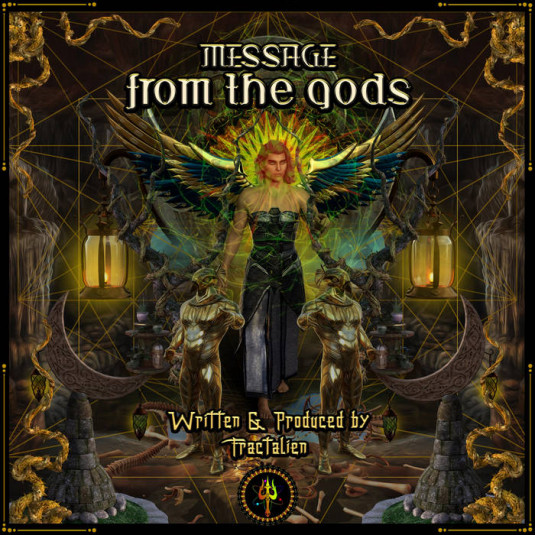 Trisulam Tribe Records - ALI FRACTALIEN - Message From The Gods