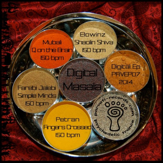 Parvati Records - .Various - Digital Masala