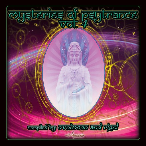 Ovnimoon Records - .Various - Mysteries Of Psytrance Vol 4