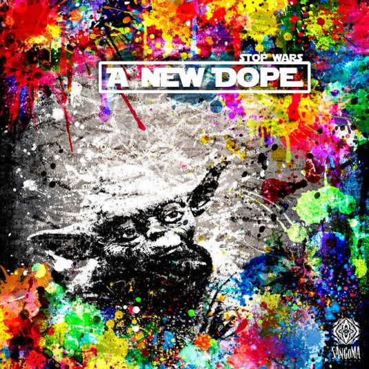 Sangoma Records - .Various - Stop Wars: A New Dope