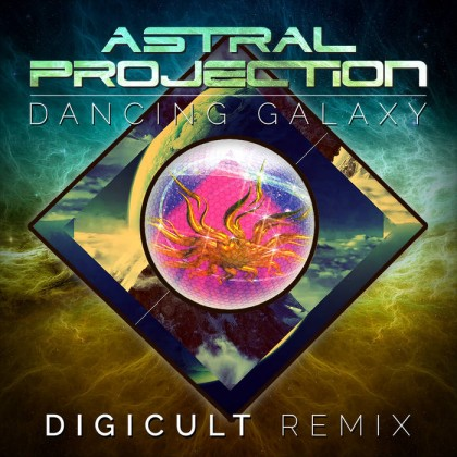 Dacru Records - ASTRAL PROJECTION - Dancing Galaxy (Digicult rmx)