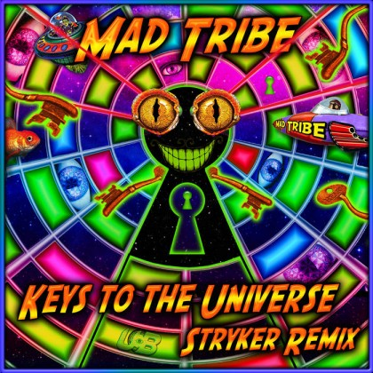 United Beats Records - MAD TRIBE - Keys to the Universe