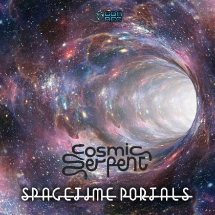 Goa Records - COSMIC SERPENT - Spacetime Portals
