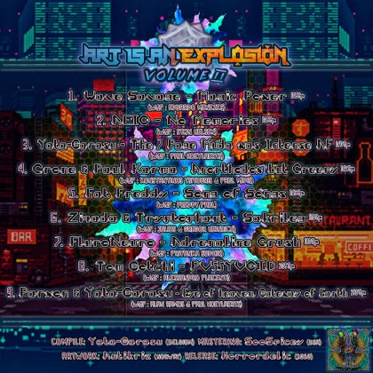 Horrordelic Records - .Various - Art is An Explosion Vol. 2