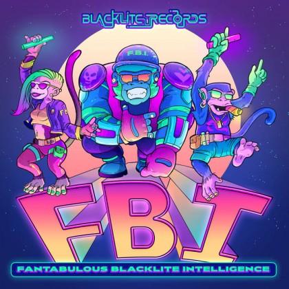 Blacklite Records - .Various - FBI  (Fantabolous Blacklite Intelligence)