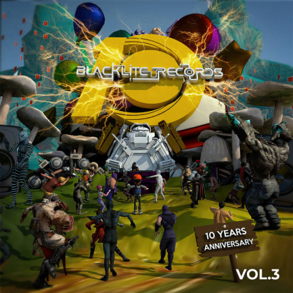 Blacklite Records - .Various - Blacklite Records 10 Years Anniversary Vol 3
