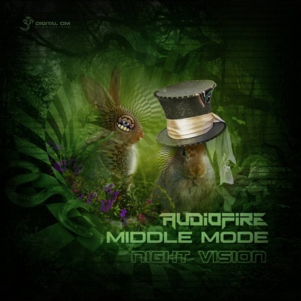 Digital Om - AUDIOFIRE, MIDDLEMODE - Night Vision