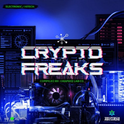 Tryptech Records - .Various - Crypto Freaks