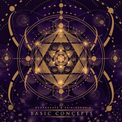 Anarchic Freakuency Records - GABAASCAPE, ZAIKLOPHOBIA - Basic Concepts