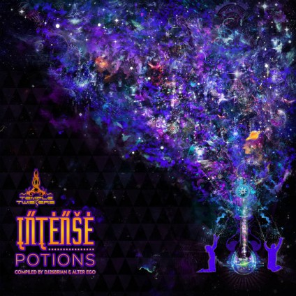 Temple Twister Records - .Various - Intense Potions