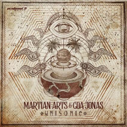 Protoned Music - MARTIAN ARTS, GOA JONAS - Unisonic