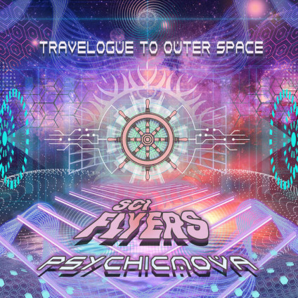 Antu Records - SCI-FLYERS, PSYCHICNOVA - Travelogue to Outer Space