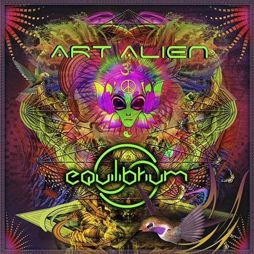 Space Baby Records - ART ALIEN - Equilibrium