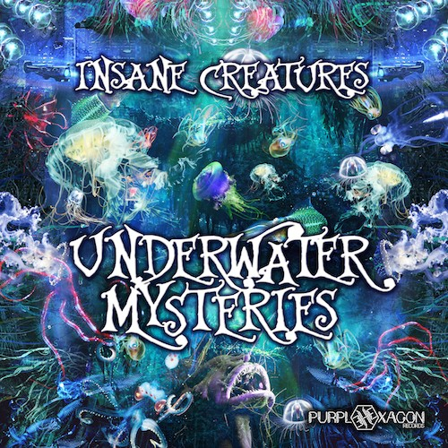 Purple Hexagon - INSANE CREATURES - Underwater Mysteries