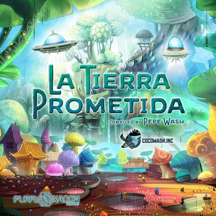 Purple Hexagon - .Various - La Tierra Prometida