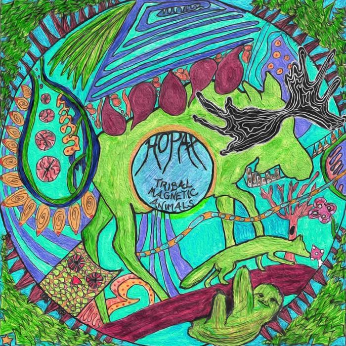 Random Records - HOPAX - Tribal Magnetic Animals