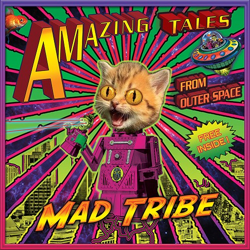 Tip Records - MAD TRIBE - Amazing Tales From Outer Space