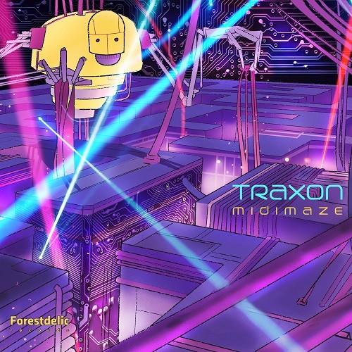 Forestdelic Records - TRAXON - Midi Maze