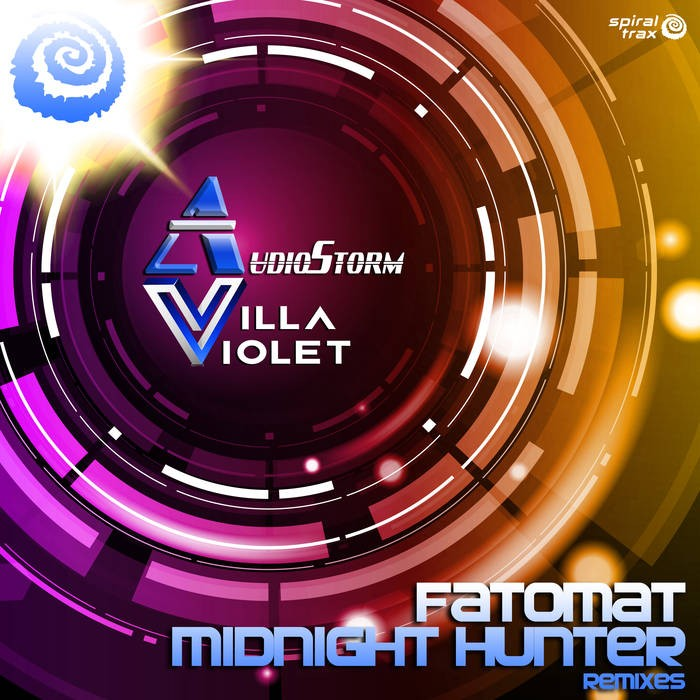 Spiral Trax Records - AUDIOSTORM & VILLA VIOLET - Midnight Hunter