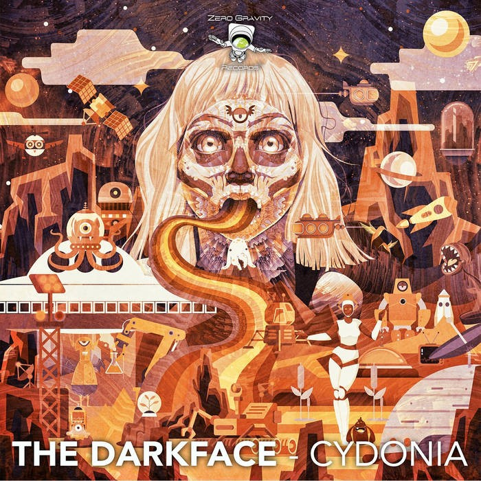 Zero Gravity Records - THE DARKFACE - Cydonia