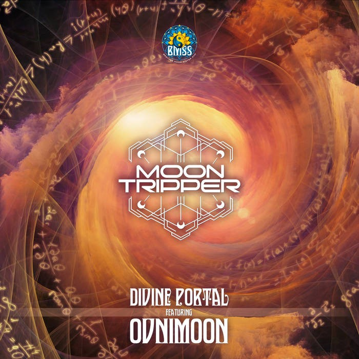 BMSS Records - MOON TRIPPER, OVNIMOON - Divine Portal