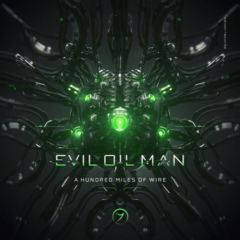 Zenon Records - EVIL OIL MAN - A Hundred Miles of Wire