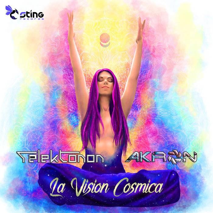 Sting Records - TELEKTONON, AKRON - La Vision Cosmica