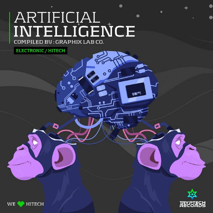 Tryptech Records - .Various - Artificial Intelligence