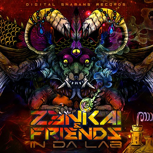Digital Shamans Records - Z3NKAI - Z3nkai & Friends In Da Lab