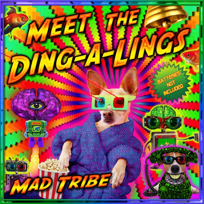 United Beats Records - MAD TRIBE - Meet the Ding-A-Lings