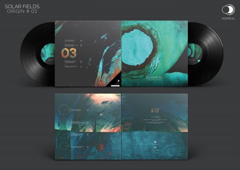 Sidereal - SOLAR FIELDS - Origin #03   2LP Vinyl