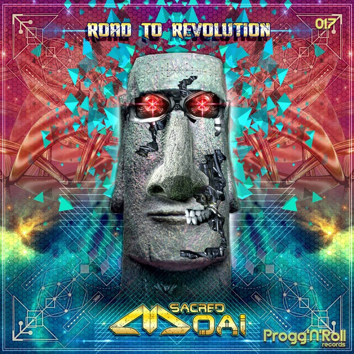 ProggNRoll Records - SACRED MOAI - Road to Revolution
