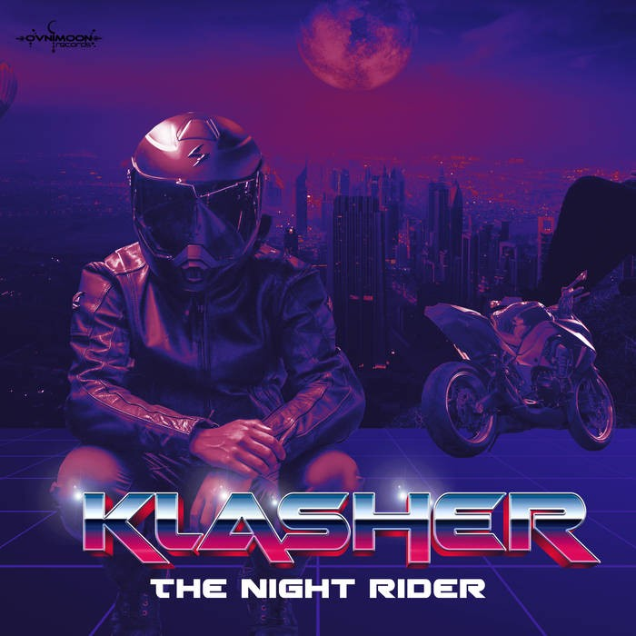 Ovnimoon Records - KLASHER - The Night Rider LP
