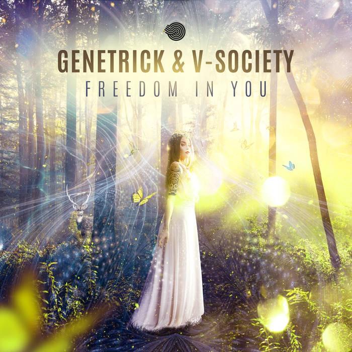 Iboga Records - GENETRICK, V-SOCIETY - Freedom in You