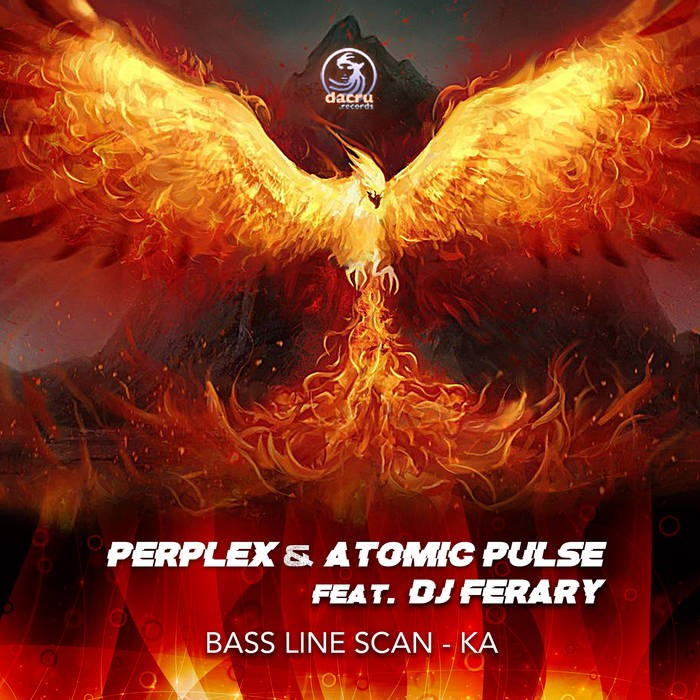 Dacru Records - PERPLEX & ATOMIC PULSE FEAT. DJ FERARY - BASS LINE SCAN-KA