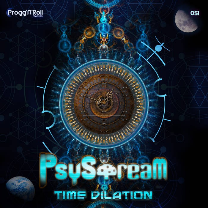 ProggNRoll Records - PSYSTREAM - Time Dilation