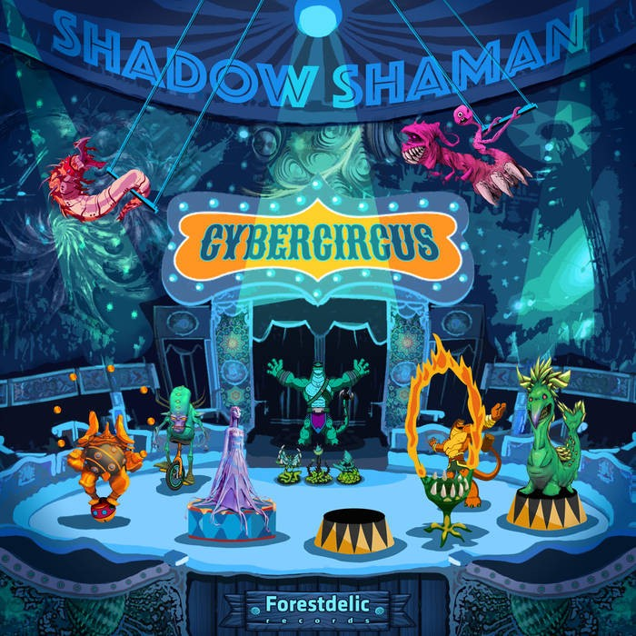Forestdelic Records - SHADOW SHAMAN - Cybercircus