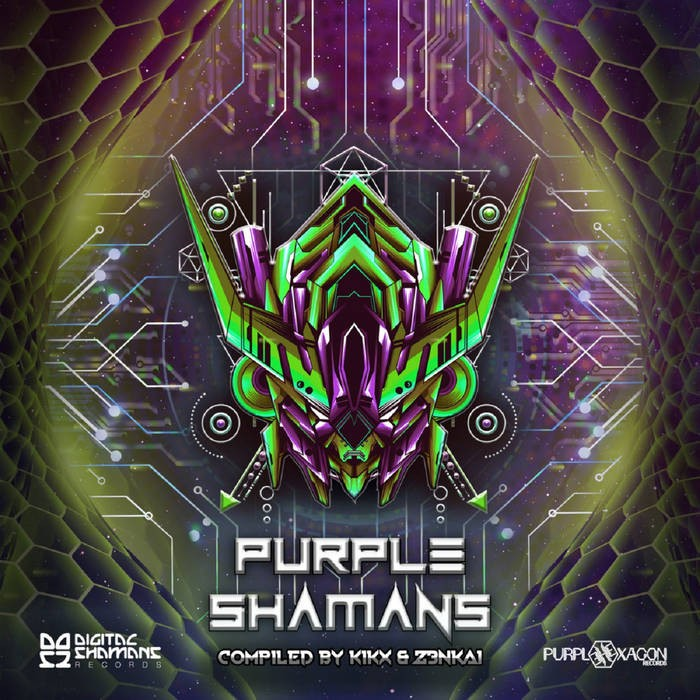 Purple Hexagon - .Various - Purple Shamans
